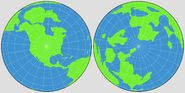 Orthographic Projection of Earth