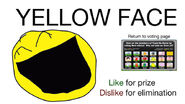 Vote for Yellow Face BFDIA 2