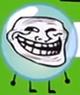 Bubble troll face