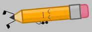 Pencil Lying Asleep