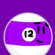 12-Ball BFDI Rocky TeamIcon