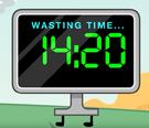 Tv wasting