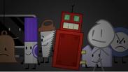 Bell tv maker saw roboty gaty david and clock