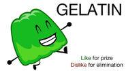 Vote for Gelatin BFDIA 4
