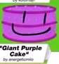 Giant Purple Cake