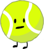 Tennis Ball in BFB 11