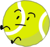 Tennis Ball falling