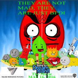 BFDI The Movie Poster (2016)
