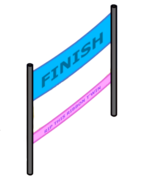 Side of the Finish line