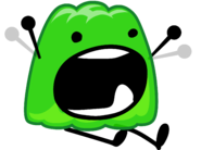 Gelatin scream in lava