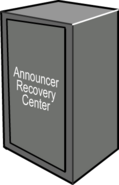 Announcer Recovery Center