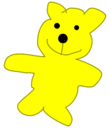 Yellow Teddy BFDI 15