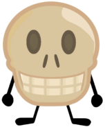 Skull Pose Pin