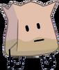 Barf bag stand