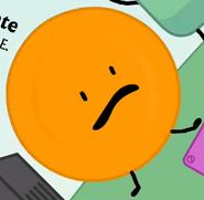 Orange plate bfb 06