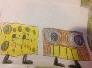 Spongy meets boombox