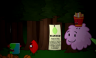 Leafy on wanted sign