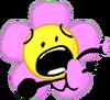 Flower falling