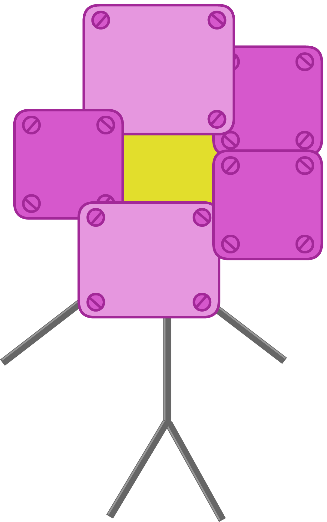 Bfb Robot Flower - Classycloud co