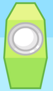 Green Speaker Front