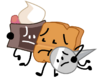 Cake, Woody, and Naily