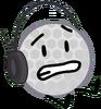 Golf ball headset