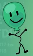 Baloony smile