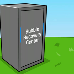 The Bubble Recovery Center's first appearance, in <a href=