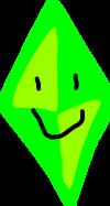The Sims Diamond by pngos