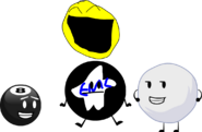 Me and my favorite bfdi characters and my favorite bfdi rc