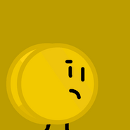 Gold Coin BFDI Rocky TeamIcon