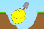 YellowFaceDiggingAHole