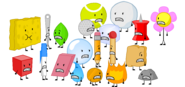 Rc BFDI Contestant, Entire BFDI Cast, Evil BFDI Cast, Screamers