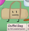 Duffel bag bfb 02 rc background