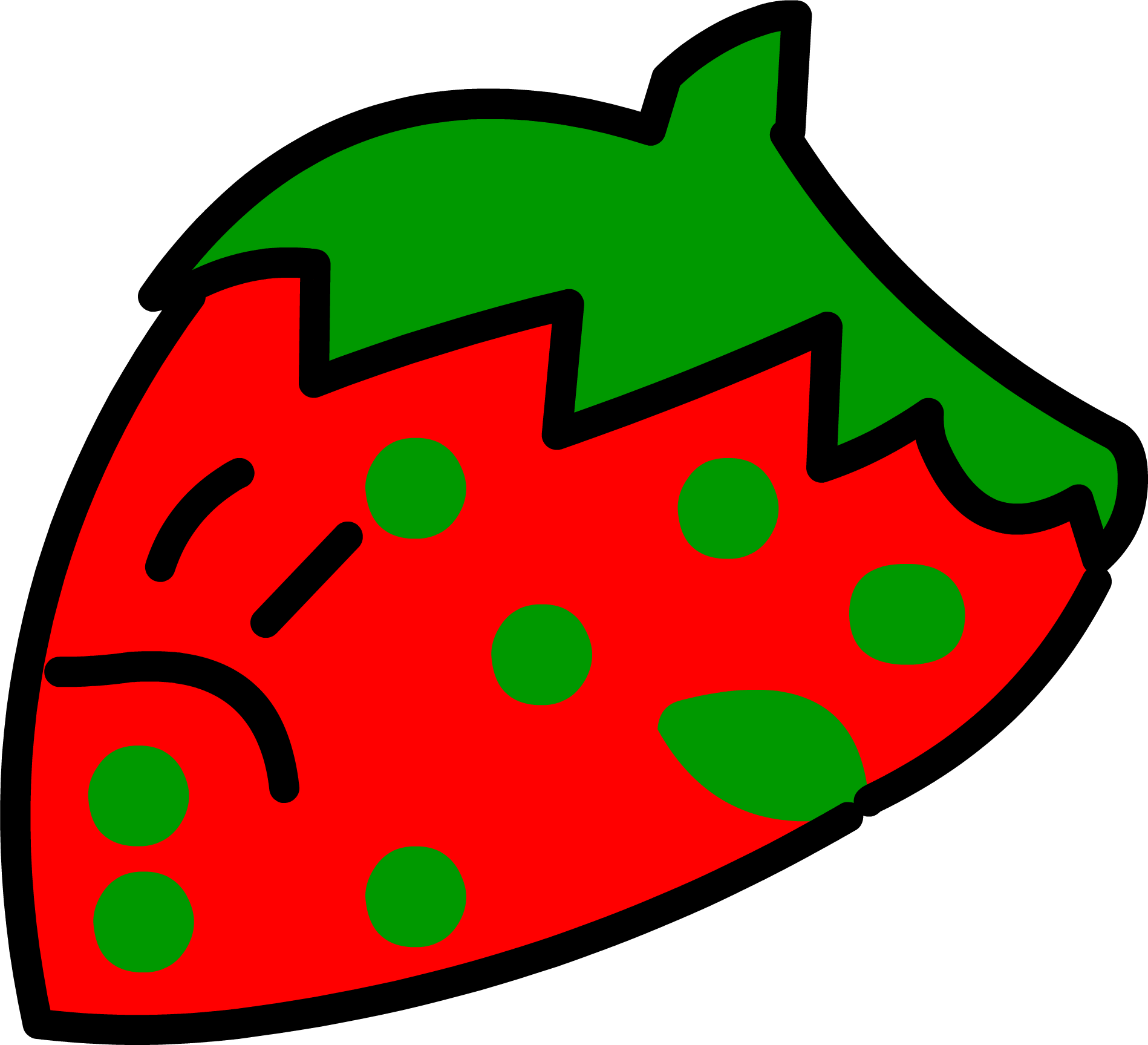 StrawberryGreenDot BFDI24
