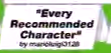 Every Recommended Characters