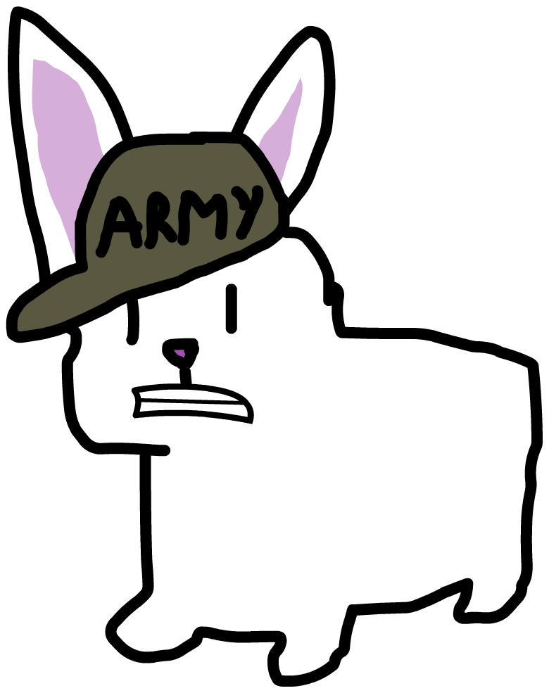 Rc Army Bunny