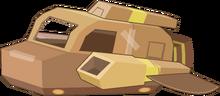 Cardboard Ship