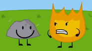 Firey Angry at ROCKY