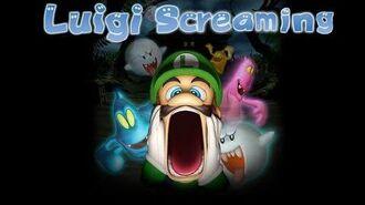LUIGI SCREAMING
