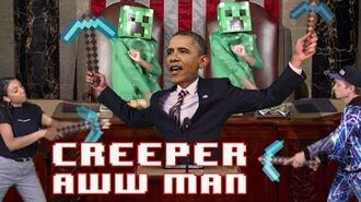 Creeper, Aw Man by Obama - This Day in Minecraft History