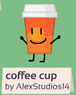 Coffee cup bfb 02 rc background