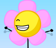 Flower fluttery