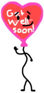 Get Well Soon Balloon AnonymousUser