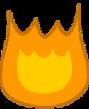 Fiery idol