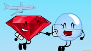 Ruby and Bubble Skydiving