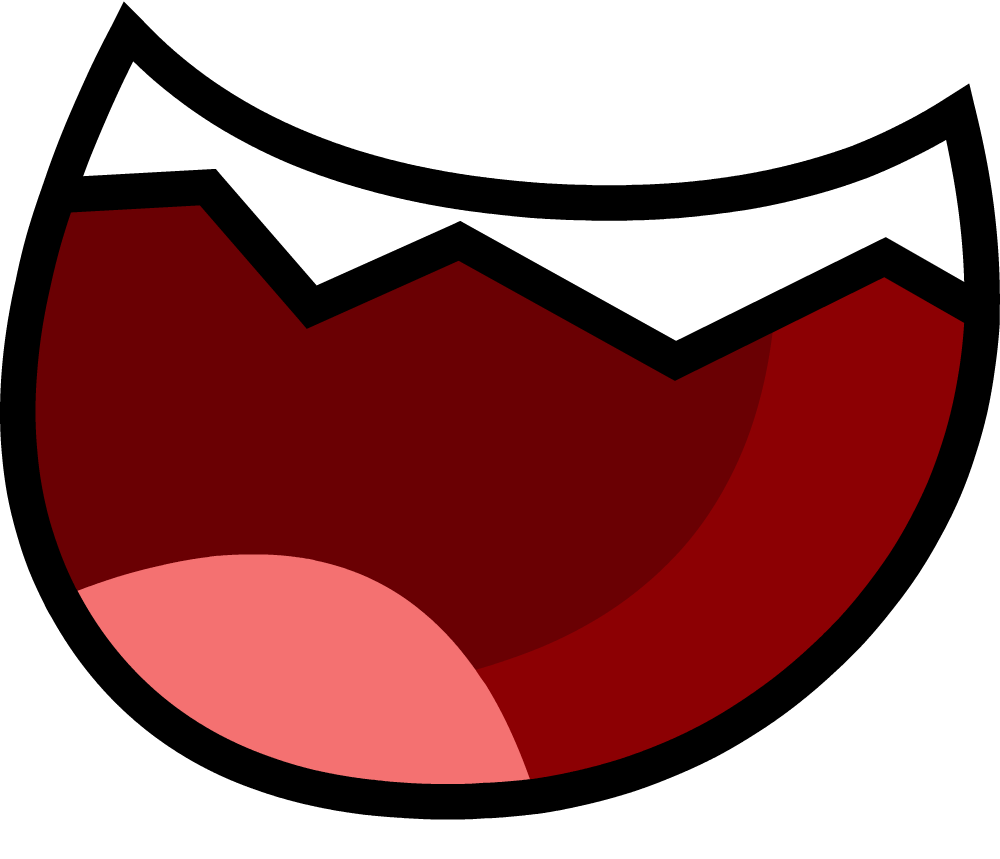 Image - Open Teethed Smile Wide BFDI.png
