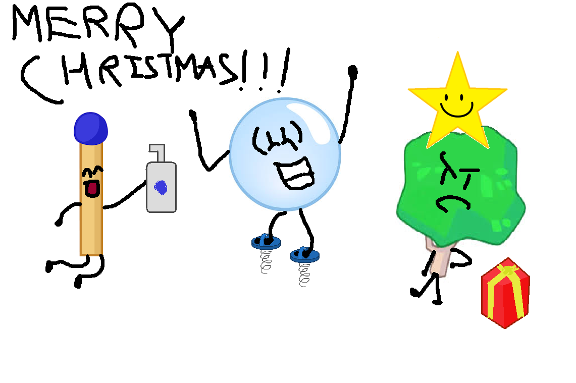 Image - Merry.christmas.png | Battle for Dream Island Wiki | FANDOM ...
