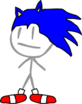 Sonic in BFDI