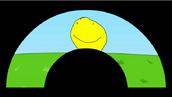 Yellow face screen